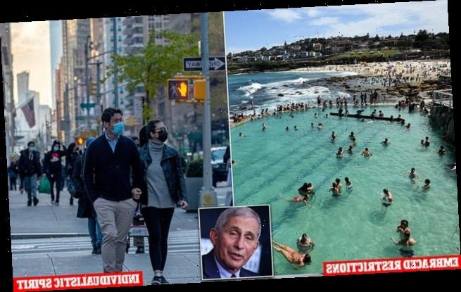 Anthony Fauci: 'Australia is the epitome of success'